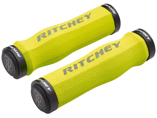 Ritchey WCS Ergo True Grip Cykelhåndtag Lock-On gul